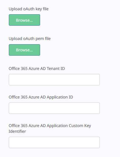 How to setup OAuth authentication for Evoko Home with Office 365